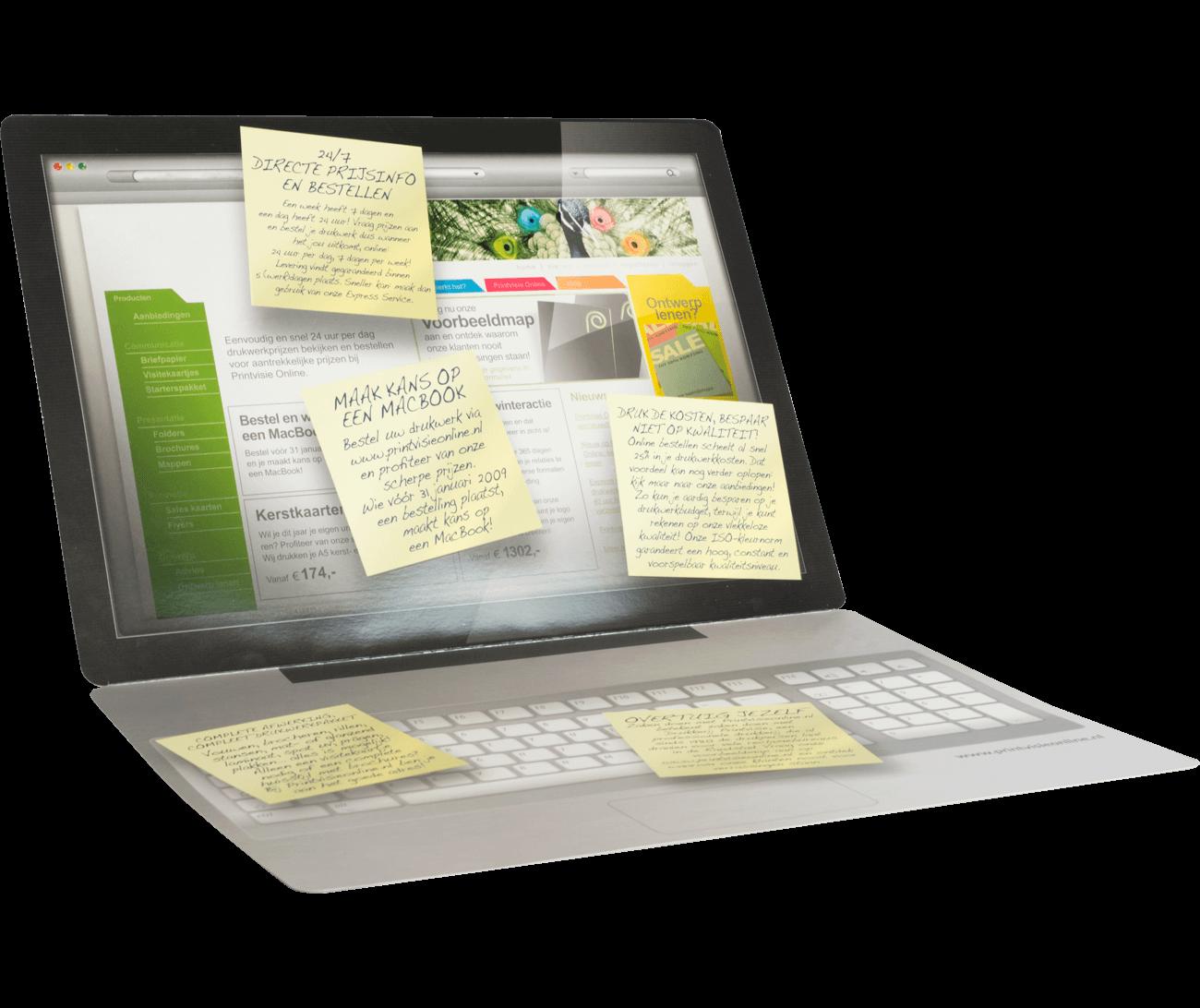 Laptop folders
