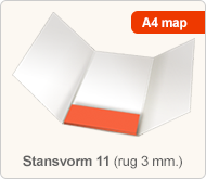 Flyersonline map - stansvorm 11 (rug 3 mm.)