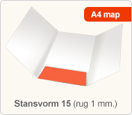 Flyersonline map - stansvorm 15 (rug 1 mm.)