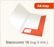 Flyersonline map - stansvorm 16 (rug 3 mm.)