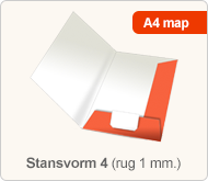Flyersonline map - stansvorm 4 (rug 1 mm.)