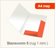 Flyersonline map - stansvorm 5 (rug 1 mm.)