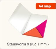 Flyersonline map - stansvorm 9 (rug 1 mm.)