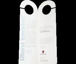 Fietsenhanger folder tweeluik drukken