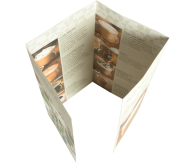 Folders 4-luik (gesloten luikvouw)