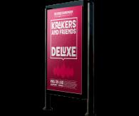 Posters (lichtbak)