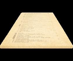 Menukaarten op hout eigen ontwerp
